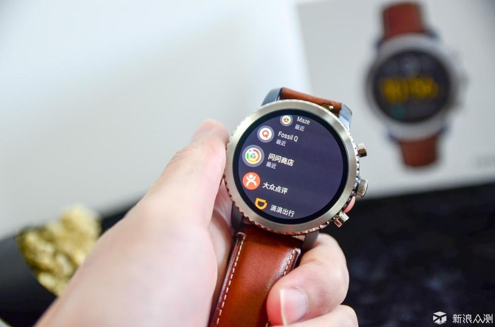 精与艳,化繁为简—FOSSIL Q智能触屏腕表上手_新浪众测