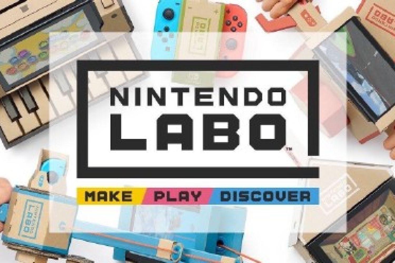 任天堂发布Labo新玩法  大孩子钱包要看好了