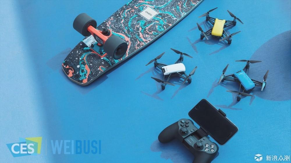 特洛Tello趣味无人机CES2018魏布斯现场上手玩_新浪众测
