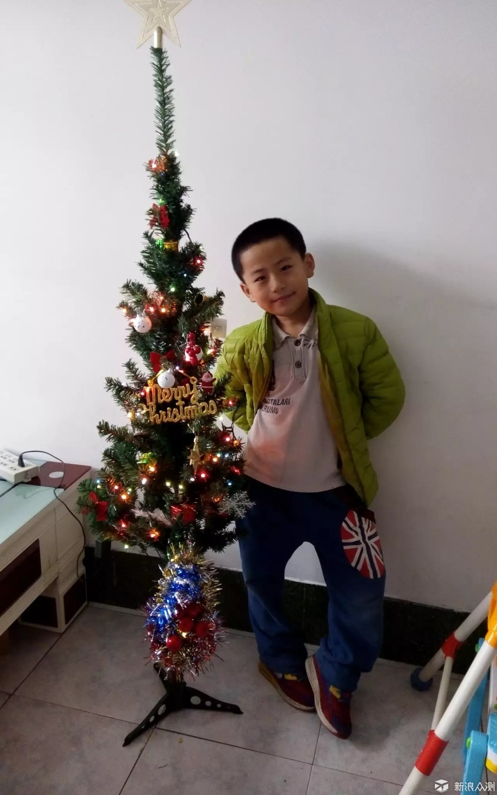 一棵圣诞树就是孩子的圣诞节_新浪众测