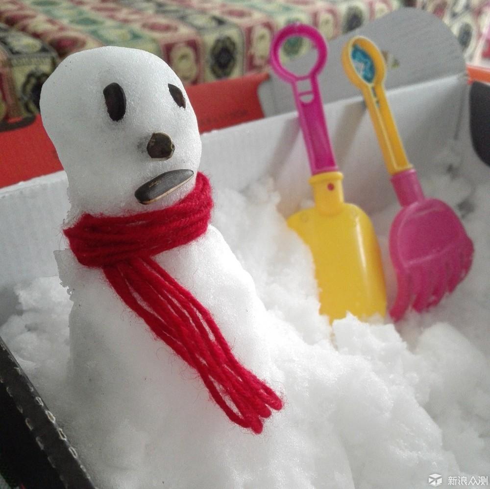 在家堆个小雪人_新浪众测