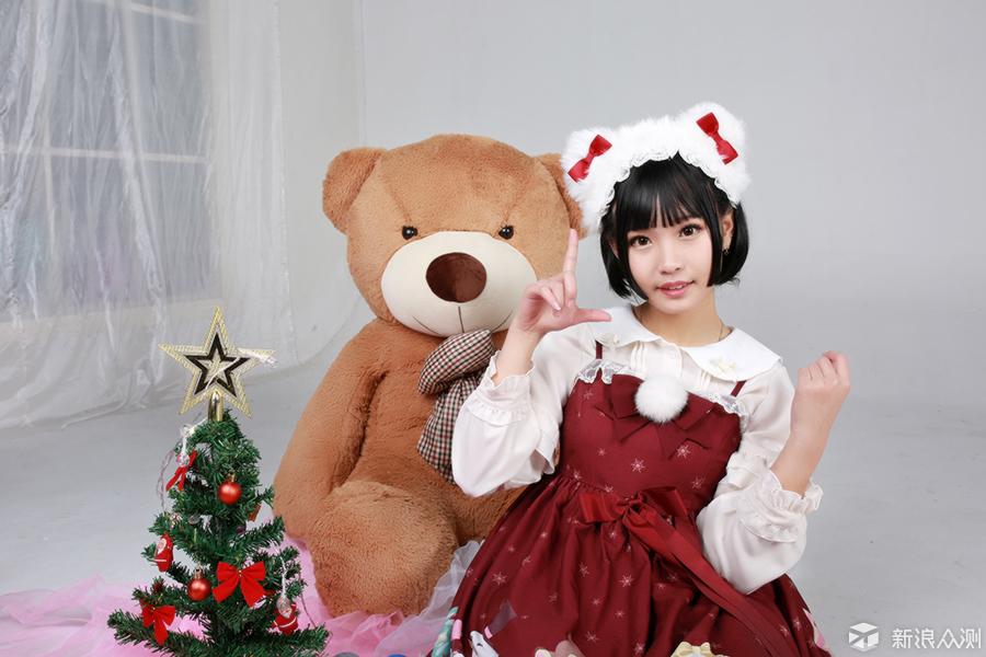 2018用镜头记录私影拍摄过程--圣诞妹子篇_新浪众测
