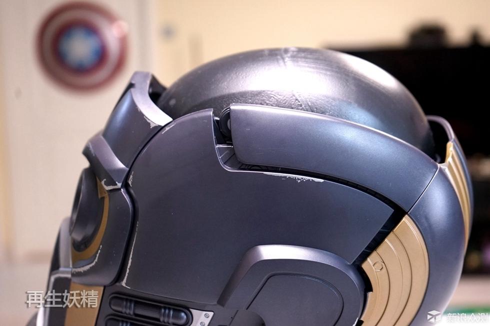 银河护卫队 STAR-LORD 星爵 头盔 开箱 把玩_新浪众测