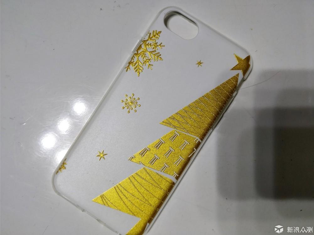 兑换了一个圣诞主题手机壳_新浪众测