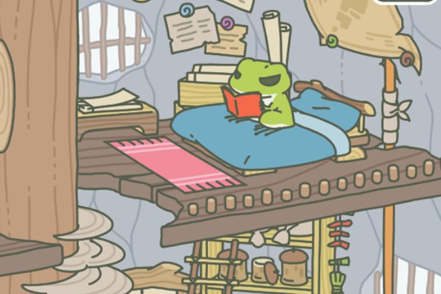 要么读书 要么旅行 佛系小青蛙登顶榜首成网红