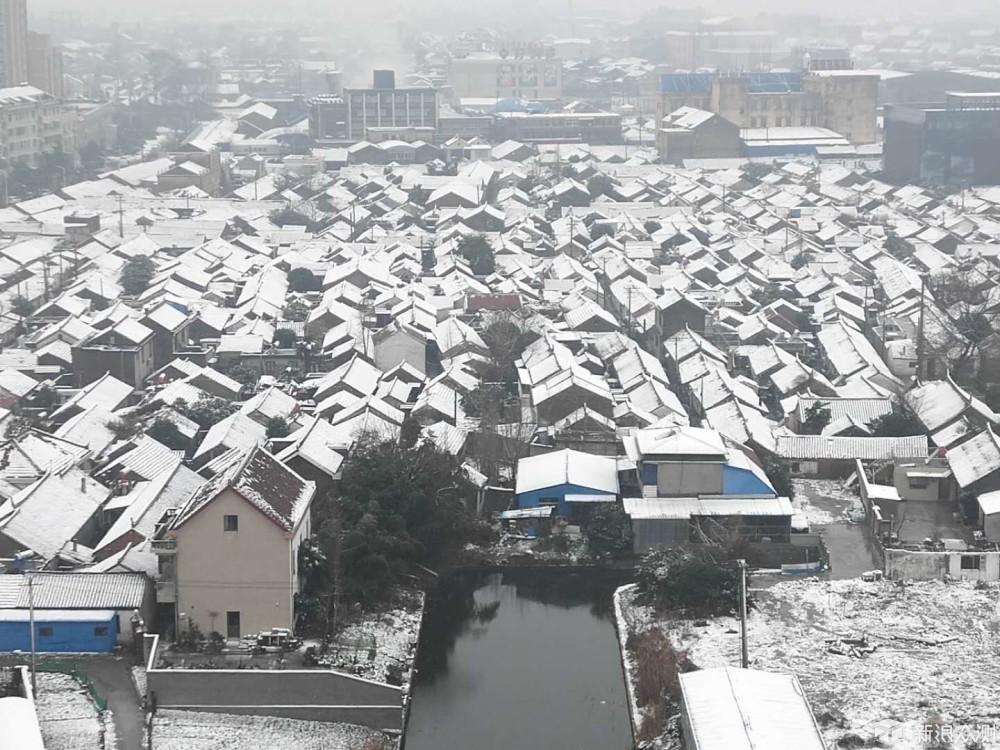 看,长江下游玩雪_新浪众测