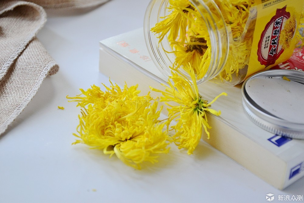 我与金丝黄菊的秋日私语_新浪众测