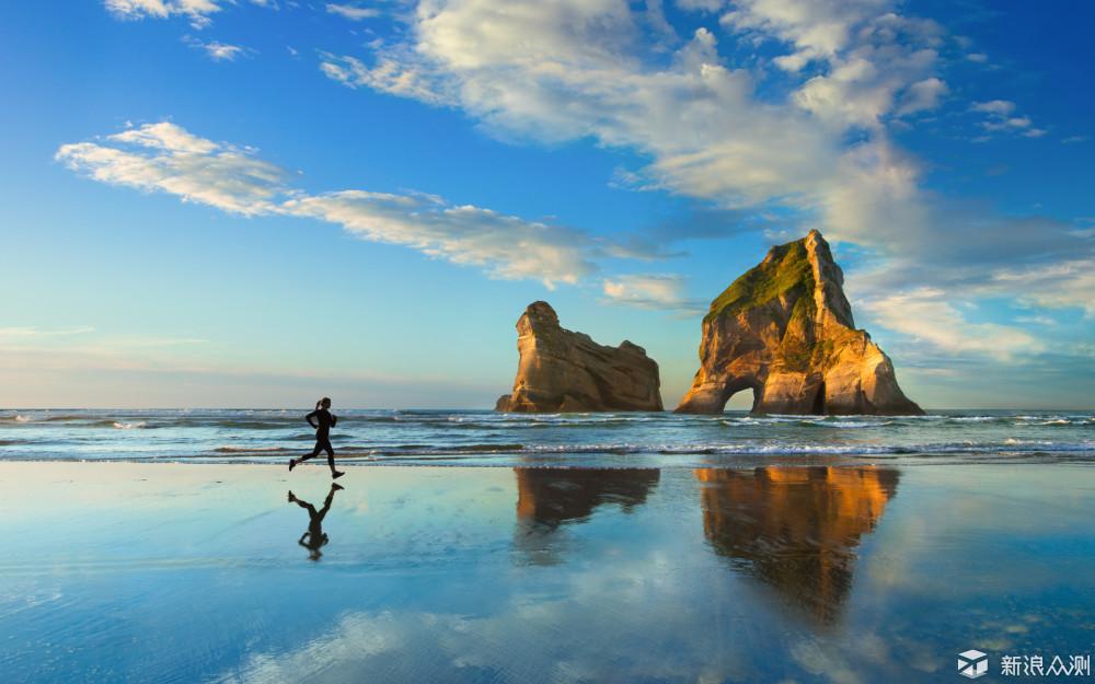 喜欢蓝色系,海边的壁纸_新浪众测