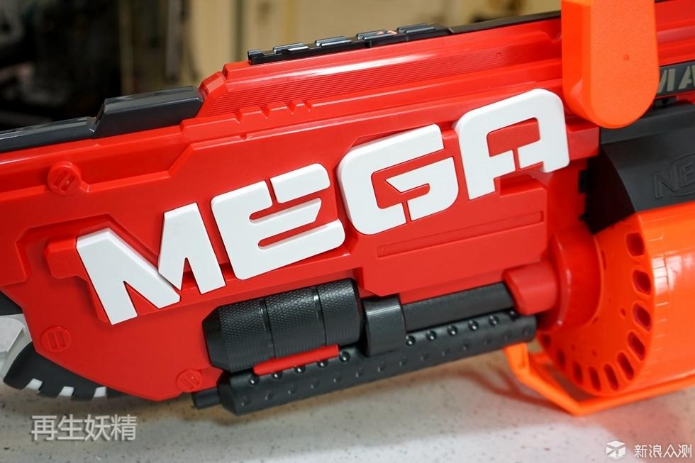 NERF MEGA 超级威力发射器 B8086 开箱试玩_新浪众测