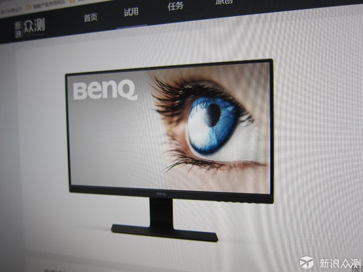 低蓝光的魅力,明基GW2480显示器护眼小卫士_新浪众测