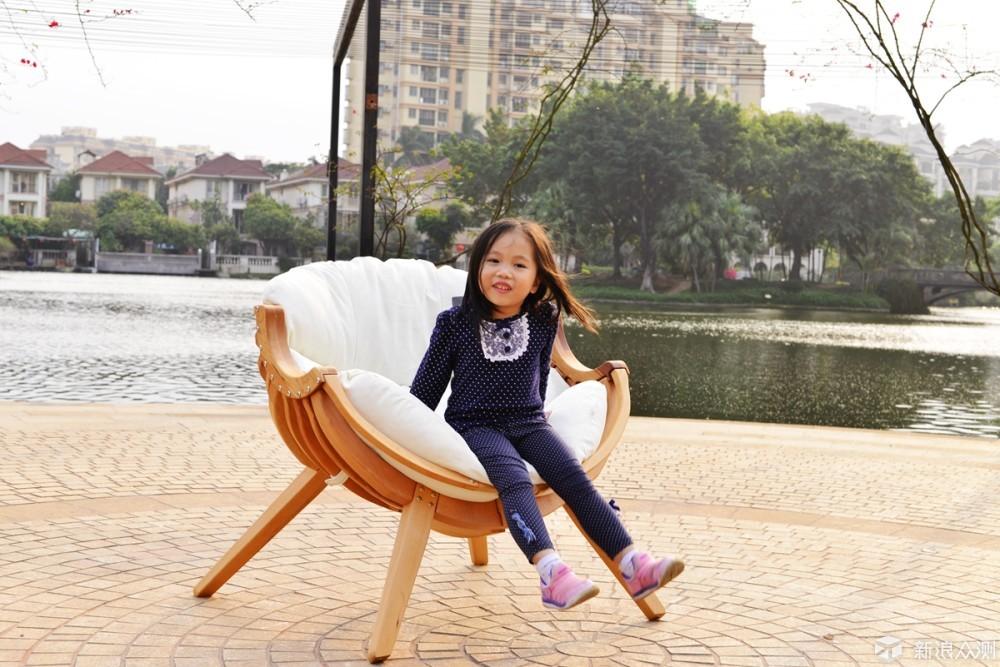 女儿专属宝座,自带VIP属性的便携沙发椅_新浪众测