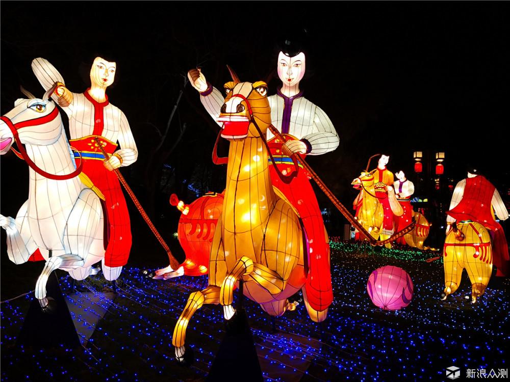#春节征稿#西安芙蓉园灯赏,大唐春江花月夜_新浪众测