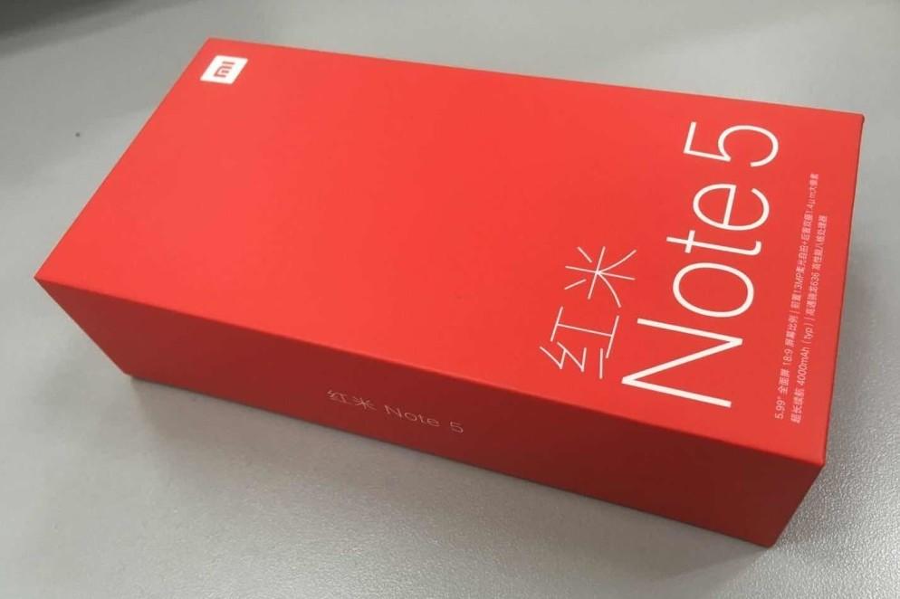 预约三家差点没抢到手——红米Note5先手体验