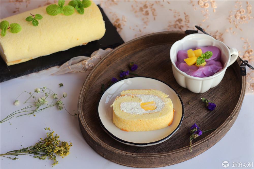 这款蛋糕卷,清新好味道_新浪众测