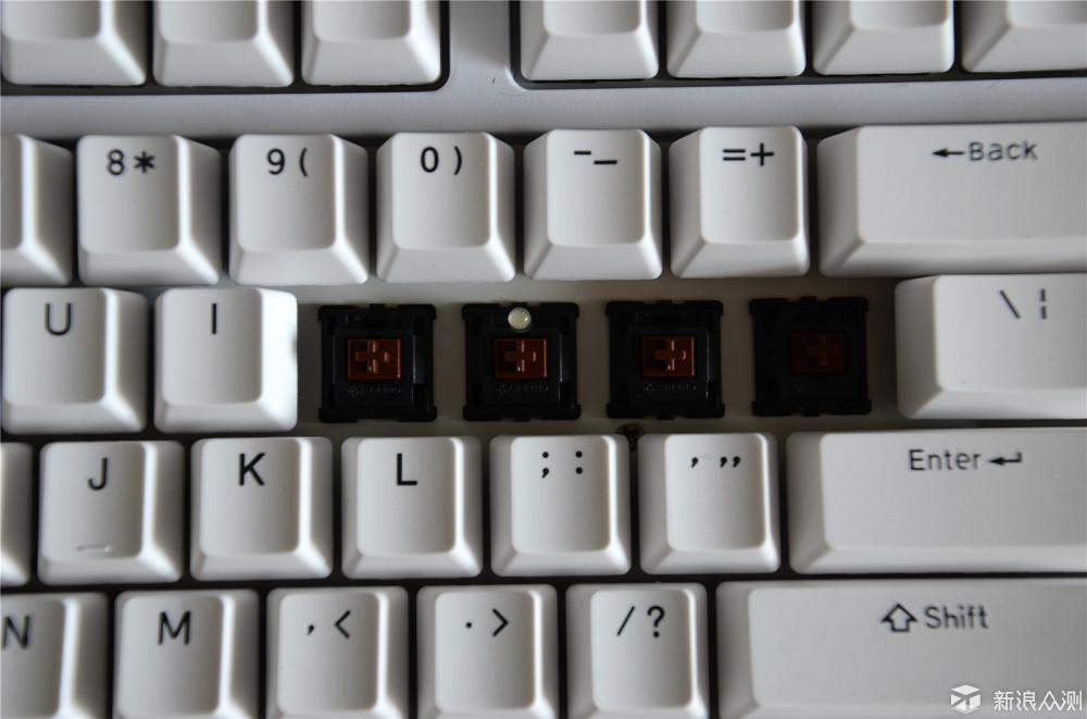 双模键盘玩的更爽-GANSS GS87-D双模键盘体验_新浪众测