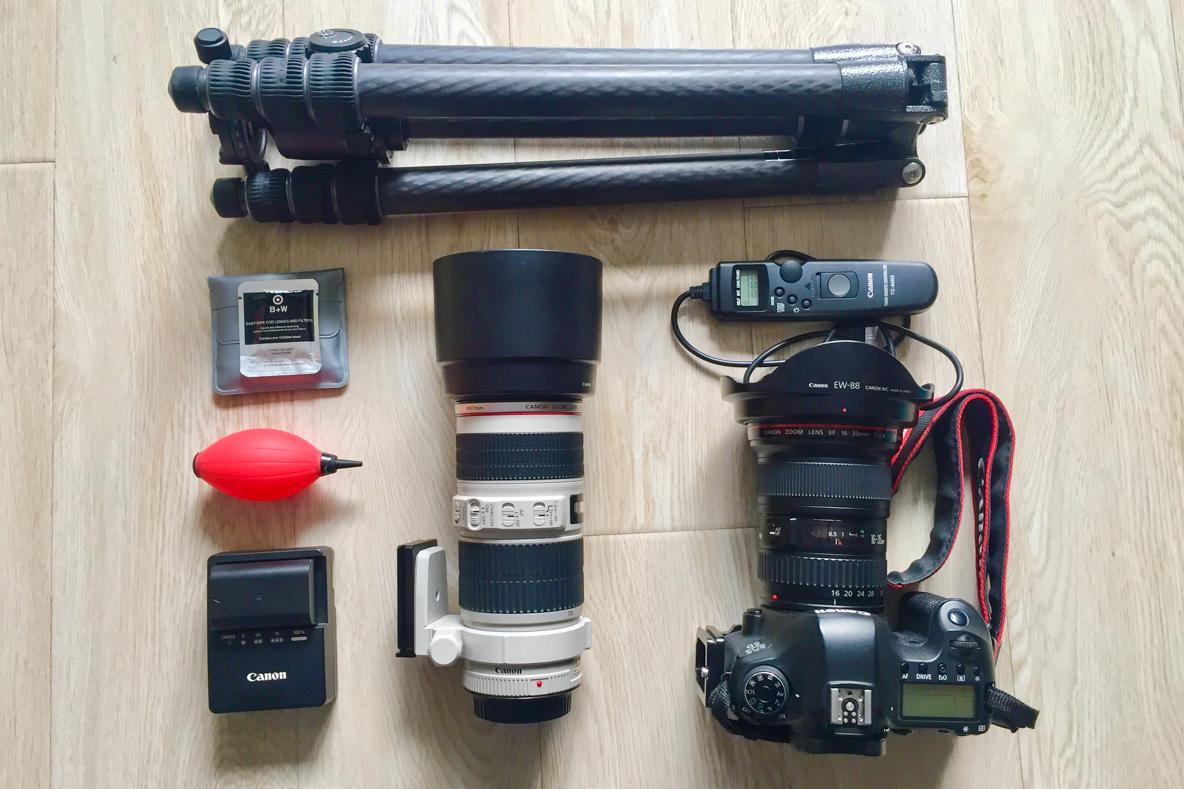风光摄影终极器材清单,跟着买就没错