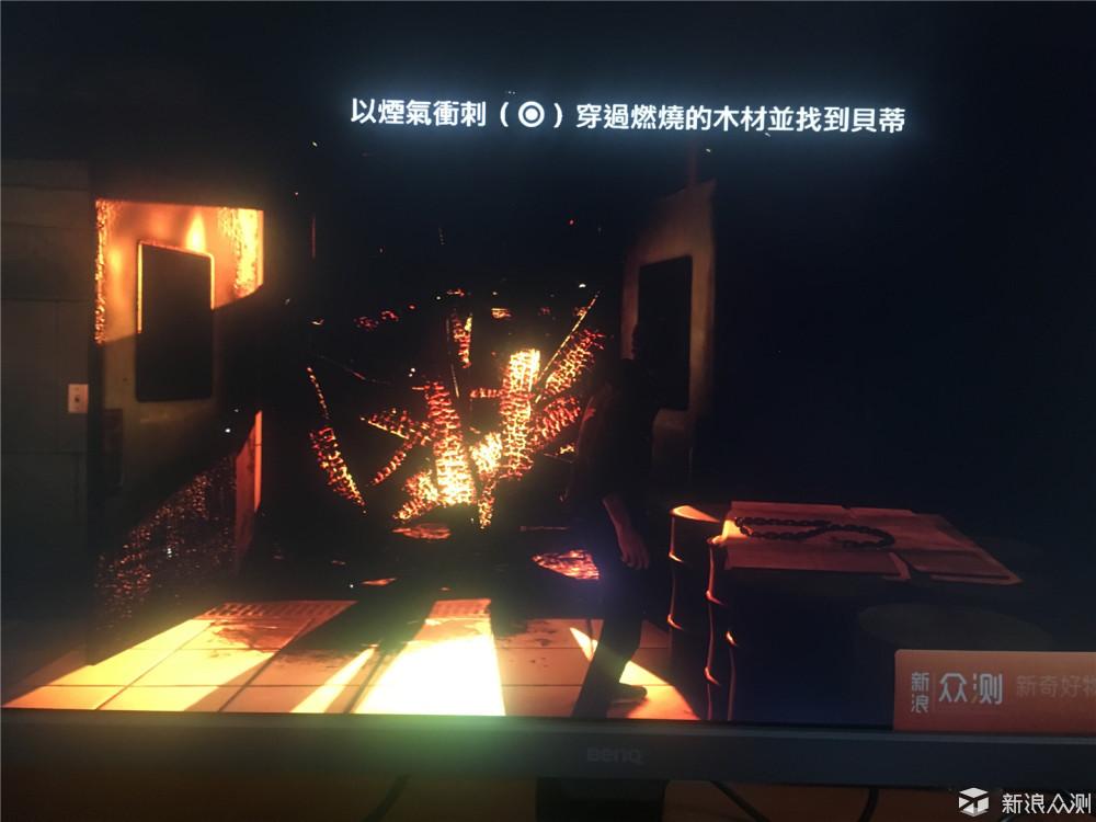 主机游戏硬核体验——明基EL2870U_新浪众测