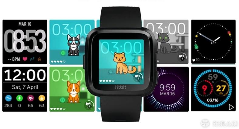 芯连芯方能展现自我—Fitbit Versa手表评测_新浪众测