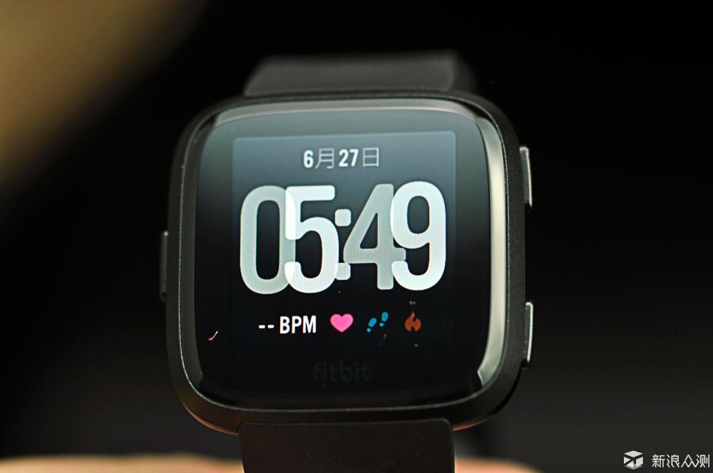 随身私教带我飞,美好生活从Fitbit Versa开始_新浪众测