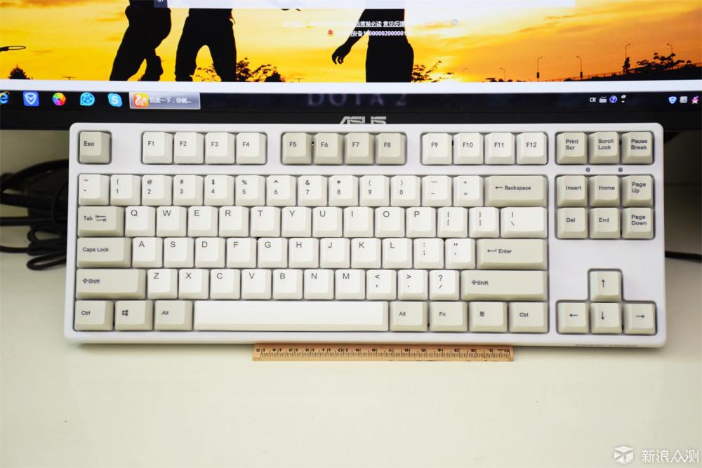 入门双模机械键盘优选 GANSS GS87-D 双模键盘_新浪众测