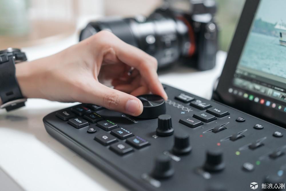 摄影师修图神器 | Loupedeck+属于LR的调音台_新浪众测