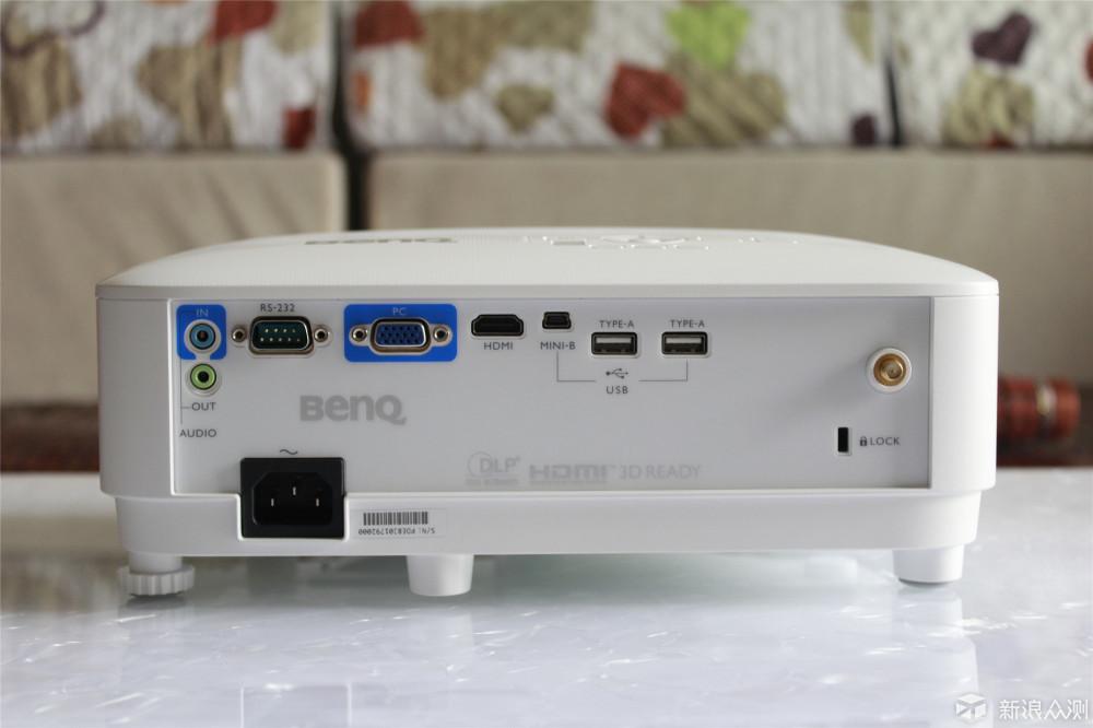 老品牌商务投影机的传统与先进,明基E580体验 _新浪众测