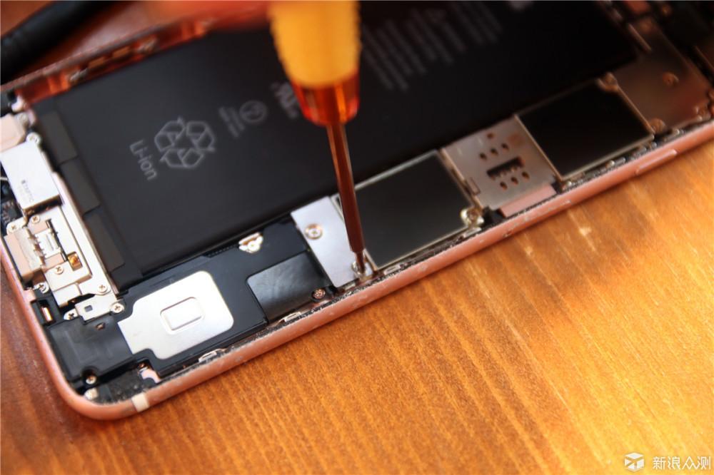 苹果6sp屏幕排线图解