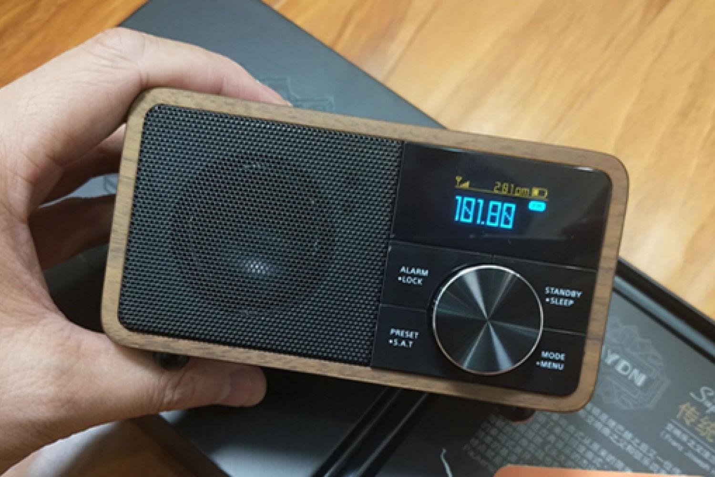 山进海顿—一台颜值与实力并存的收音机音箱