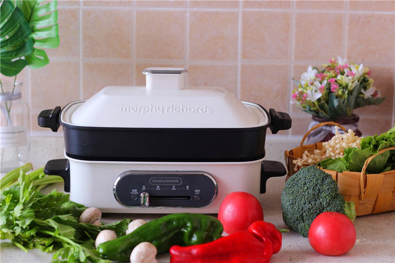摩飞多功能电烤锅在手,还担心厨艺不精?