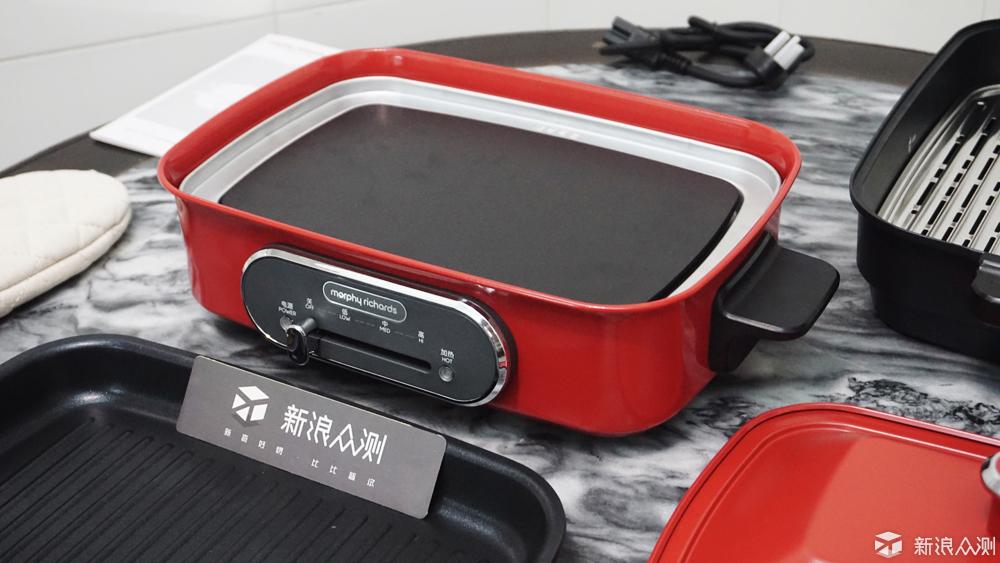 高颜值功能多,轻松烹饪美味--摩飞电烤锅_新浪众测
