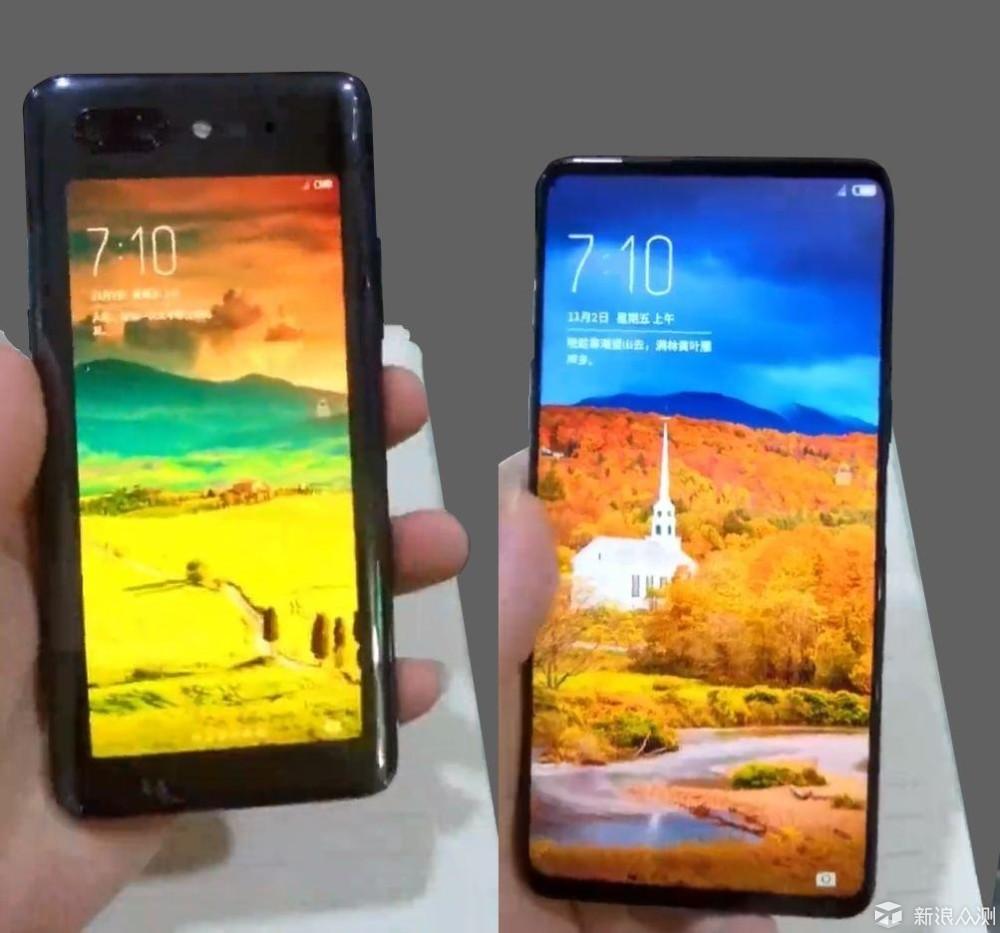 10月新手机不按套路出牌,这四款真机先曝光_新浪众测
