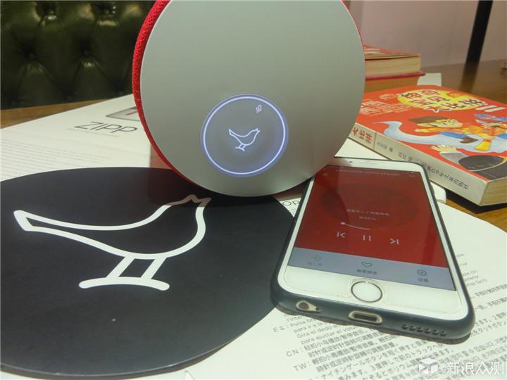 语音、触控、App三合为一的小鸟音响试玩报告_新浪众测