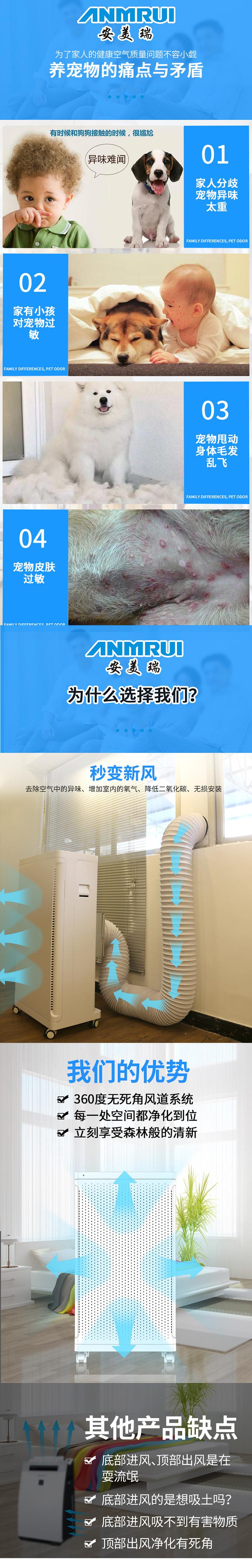安美瑞X8宠物空气净化器免费试用,评测