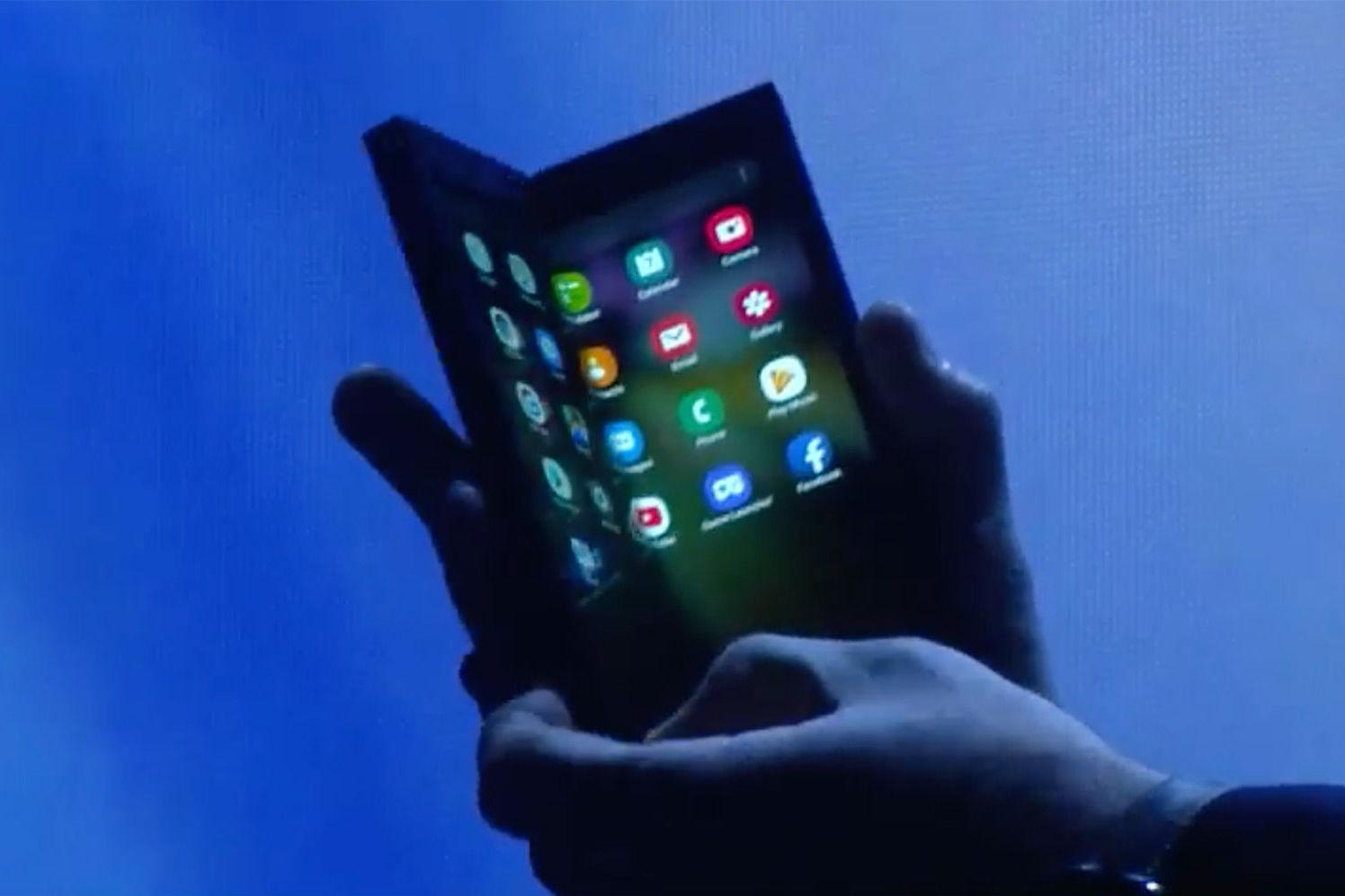 外媒:三星将在2019年上半年推出折叠屏手机