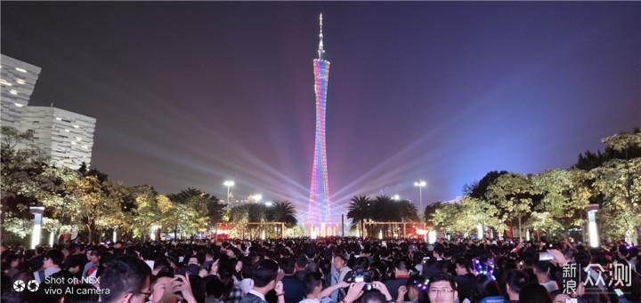 用vivo NEX带你看看2018广州灯光节_新浪众测