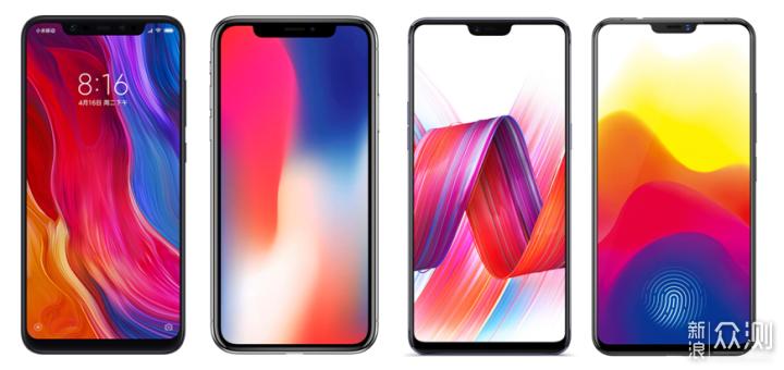 2018全面屏手机概览,屏占比的狂欢,没有终点_新浪众测