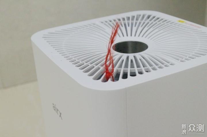 airx50度加湿器—自然蒸发让湿度更均匀_新浪众测