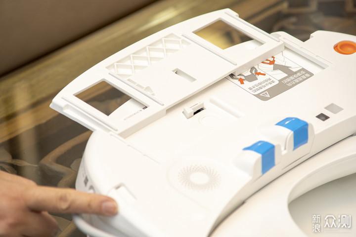 小鲸洗智能坐便盖 让如厕有了玩手机的理由_新浪众测
