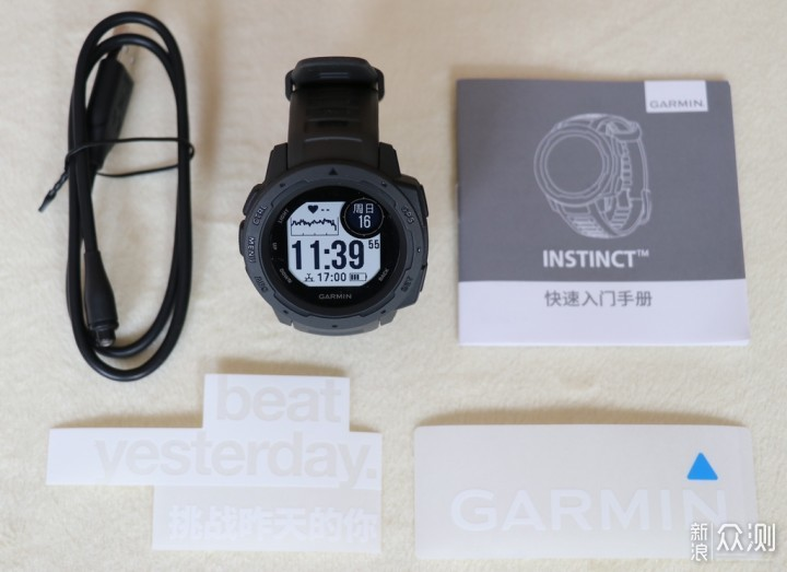 佳明Instinct户外智能手表,唤醒你的运动本能_新浪众测