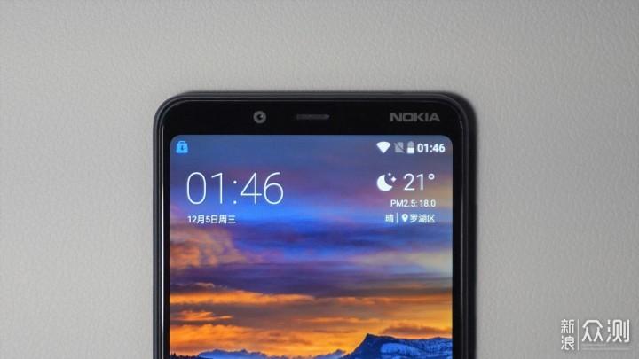 Nokia 3.1 Plus:昔日王者正从入门级卷土重来_新浪众测