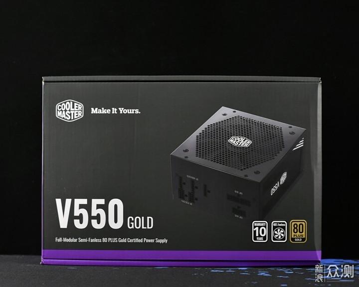 酷冷至尊V550 Gold全模组电源GTX1660Ti好伙伴_新浪众测