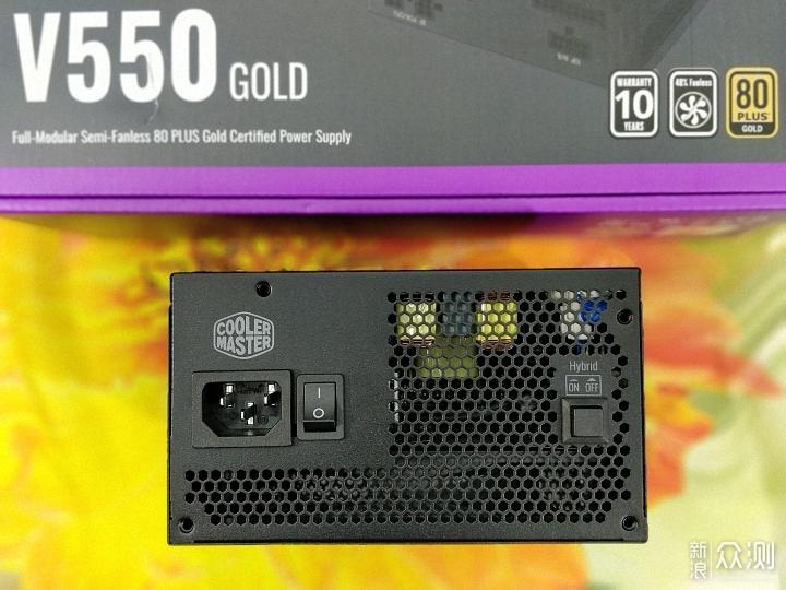 酷冷至尊V550GOLD电源,静音与散热的结合体_新浪众测