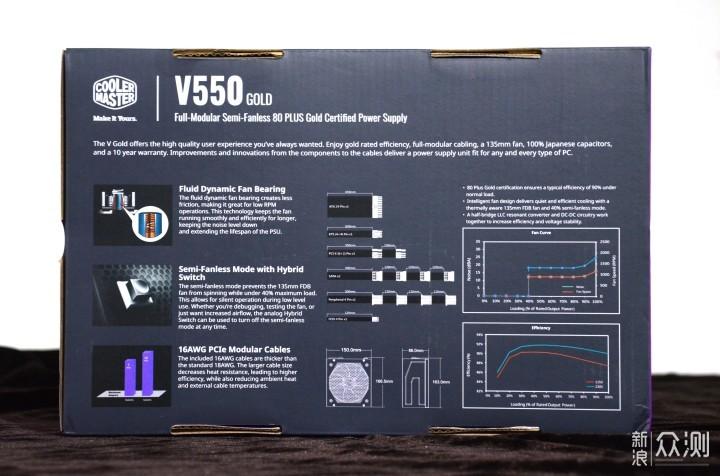酷冷至尊V550GOLD简单上手 DIY主机稳定的关键_新浪众测