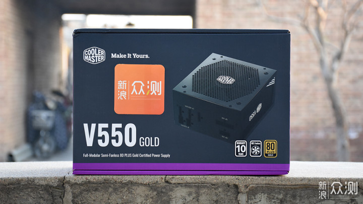 酷冷至尊V550 GOLD电源丨强劲的动力保障_新浪众测