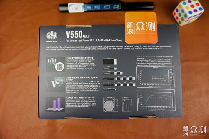 安静的电源--酷冷至尊V550GOLD金牌全模组体验_新浪众测