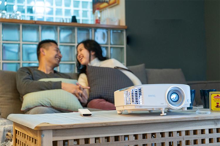 明基i707智能色准家用投影仪免费试用,评测