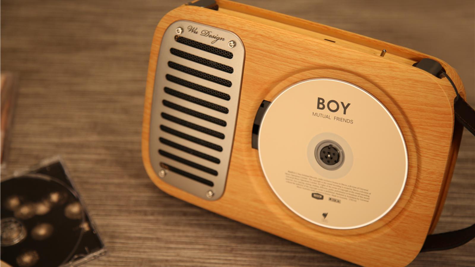 巫·单曲人生壁挂式CD机:繁忙中的一丝惬意