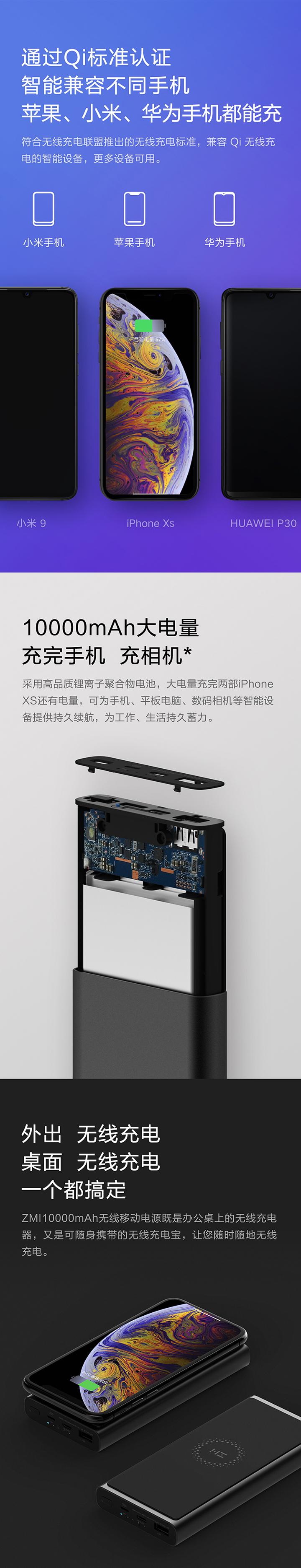 【全网首发】紫米无线充电源免费试用,评测