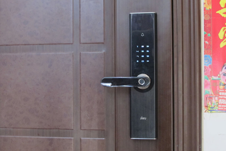 苏宁小Biu智能门锁:门上有它 安全到家