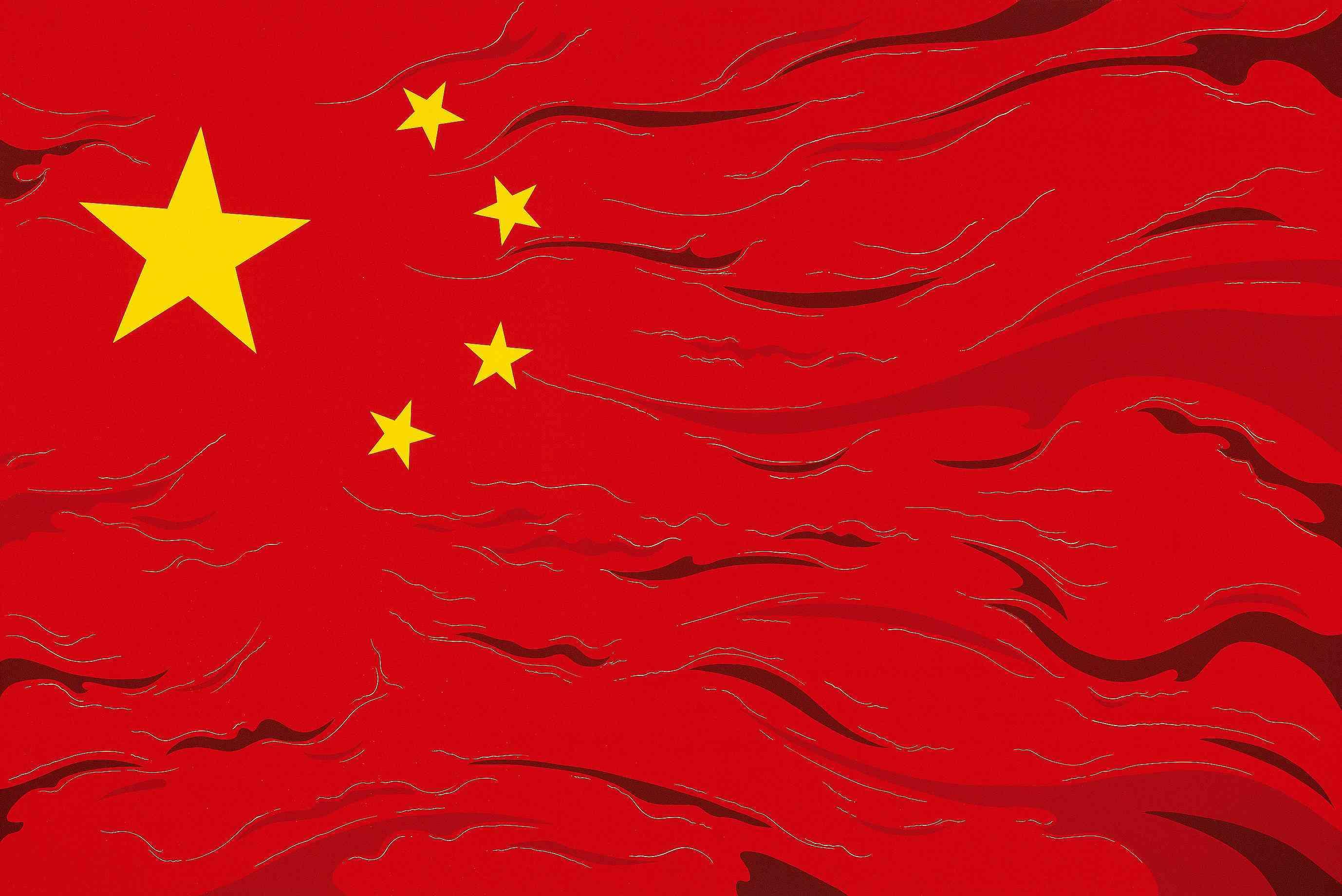 中國國旗壁紙_中國國旗壁紙畫法